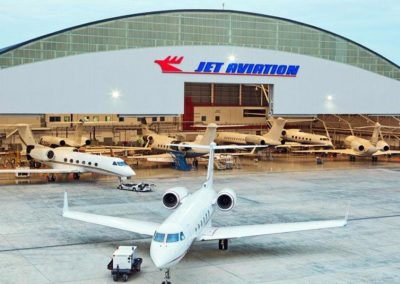 Jet Aviation Hanger and FBO – Hanscom, MA
