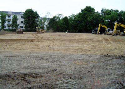 Homewood Suites Hilton Canton MA - Construction site work – excavating contractors – heavy equipment – civil construction – siteworks – Westborough – Boston – Metro West – MA – RI – CT – VT – NH