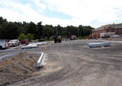 Natick High School Natick MA - Construction site work – excavating contractors – heavy equipment – civil construction – siteworks – Westborough – Boston – Metro West – MA – RI – CT – VT – NH