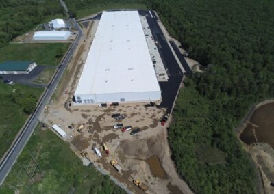 DeBartolo Warehouse Bridgewater MA - Construction site work – excavating contractors – heavy equipment – civil construction – siteworks – Westborough – Boston – Metro West – MA – RI – CT – VT – NH