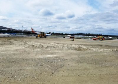 Jet Aviation Hanger & FBO Hanscom MA - Construction site work – excavating contractors – heavy equipment – civil construction – siteworks – Westborough – Boston – Metro West – MA – RI – CT – VT – NH