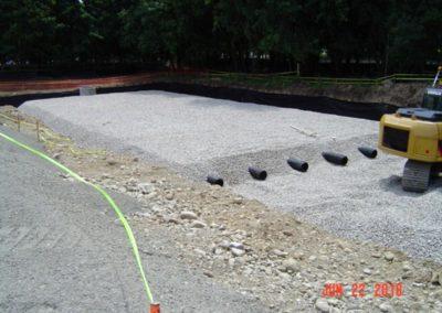 Homewood Suites Hilton Canton MA - Construction site work – excavating contractors – heavy equipment – civil construction – siteworks – Westborough – Boston – Metro West – MA – RI – CT – VT – NH
