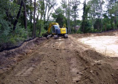 The Cooik Estate Cohasset MA - Construction site work – excavating contractors – heavy equipment – civil construction – siteworks – Westborough – Boston – Metro West – MA – RI – CT – VT – NH
