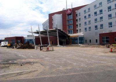 Patriot Place Foxboro MA - Construction site work – excavating contractors – heavy equipment – civil construction – siteworks – Westborough – Boston – Metro West – MA – RI – CT – VT – NH