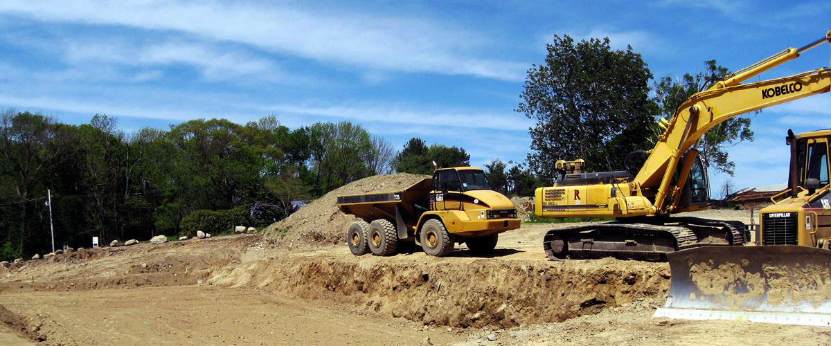 Construction site work – excavating contractors – heavy equipment – civil construction