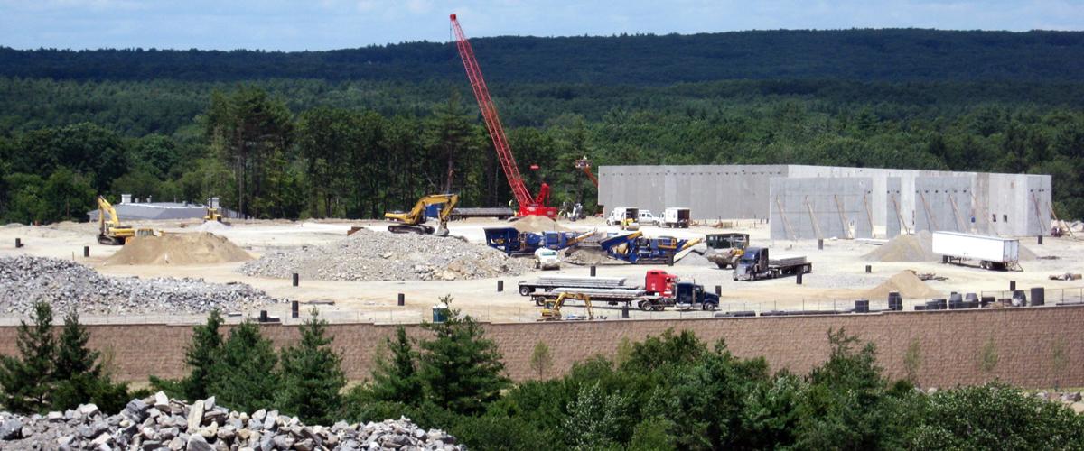 Construction site work – excavating contractors – heavy equipment – civil construction